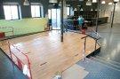 Les Sheds II - Vernis parquet espace enfants - 2014-09-17