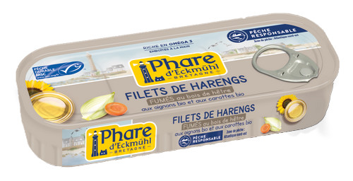 Filets de harengs 150g