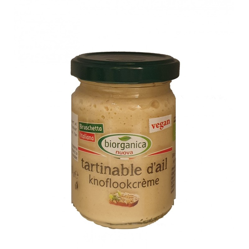 Tartinable d'ail 140g